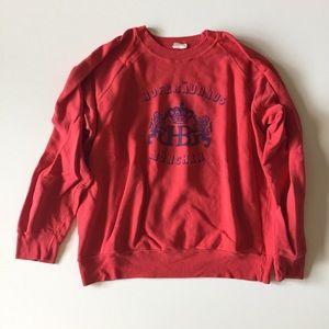 Vintage Red Hofbrauhaus Munchen Sweatshirt Size L